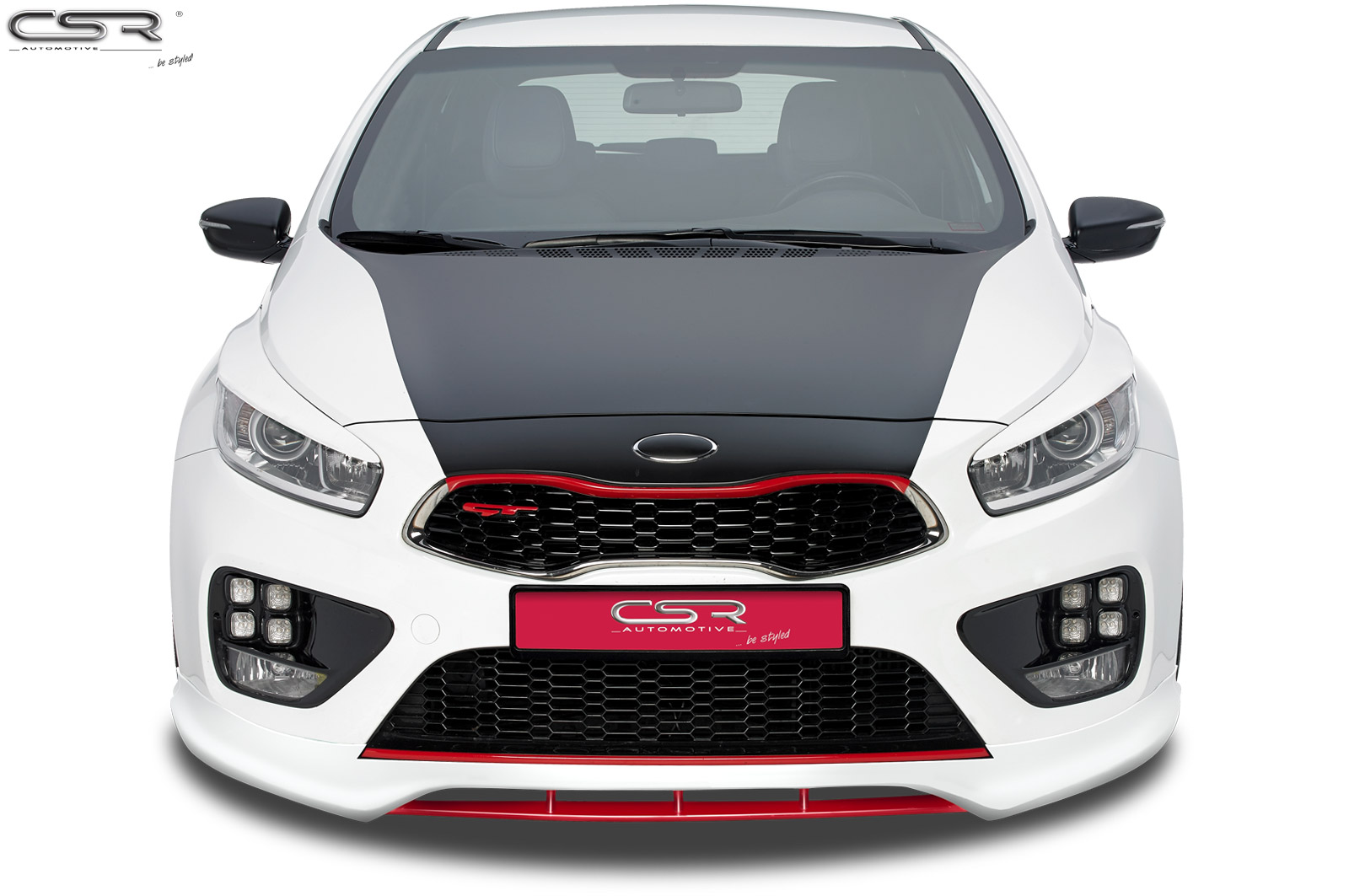 exteri r kia ceed gt pro gt p edn spoiler fa234 csr tuning shop. Black Bedroom Furniture Sets. Home Design Ideas