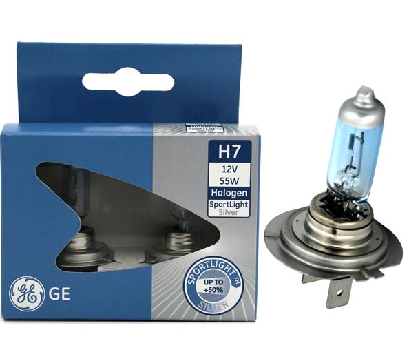 Ge Sports Field Lighting: Žárovky GE H7 SPORT LIGHT + 50% 12V 55W