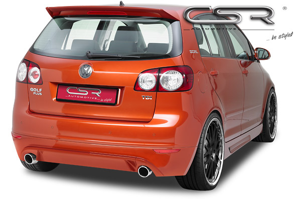 exteri r vw golf 5 plus zadn spoiler csr tuning. Black Bedroom Furniture Sets. Home Design Ideas