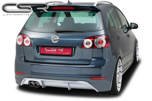 exteri r vw golf 6 plus zadn spoiler csr tuning. Black Bedroom Furniture Sets. Home Design Ideas