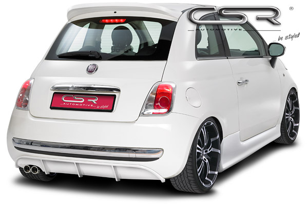 exteri r fiat 500 zadn spoiler ha087 csr tuning shop. Black Bedroom Furniture Sets. Home Design Ideas