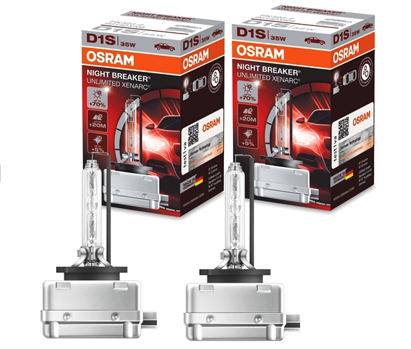 OSRAM XENON D1S 35W NIGHT BREAKER UNLIMITED XENARC
