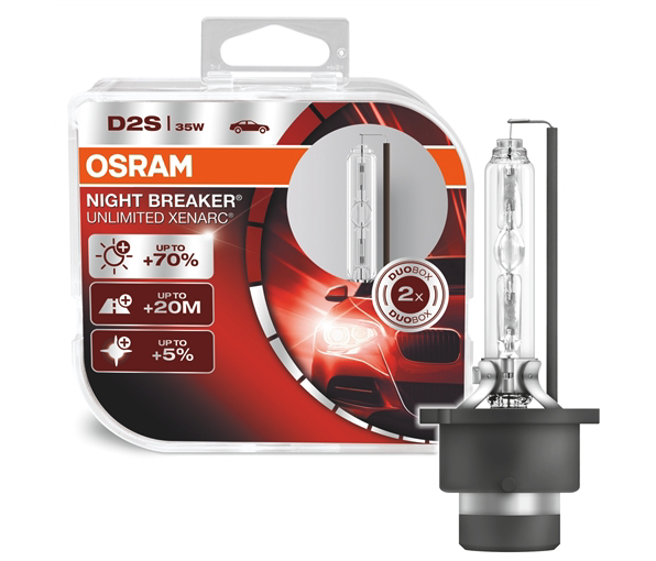 OSRAM XENON D2S 35W XENARC NIGHT BREAKER UNLIMITED