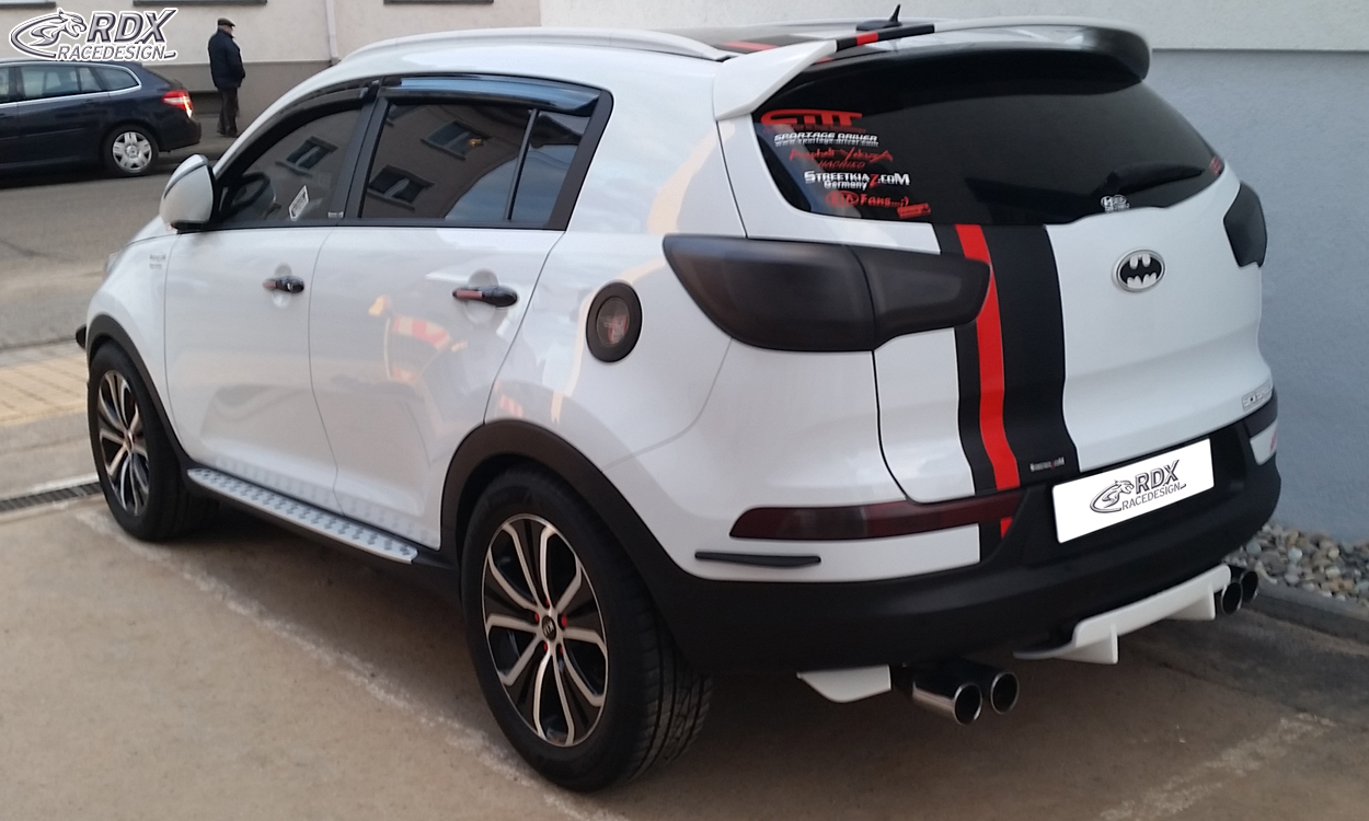kia kia sportage sl zadn spoiler rdx tuning shop. Black Bedroom Furniture Sets. Home Design Ideas