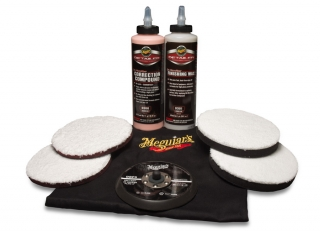 Meguiar's DA Microfiber Correction System Kit 5""