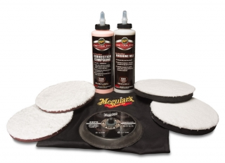 Meguiar's DA Microfiber Correction System Kit 6""