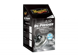 Meguiar's Air Re-Fresher Odor Eliminator - Black Chrome Scent