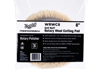 "Meguiar's Soft Buff Rotary Wool Pad 8"" / 200 mm"